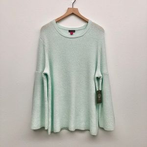 New Vince Camuto Plus Size Mint Green Sweater - 2X